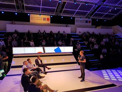 Pitch Debate Hall DMEXCO