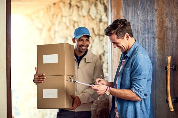Lieferzeit-Paket-Lieferung