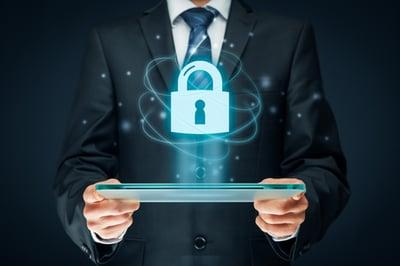 Datensicherheit-Schloss