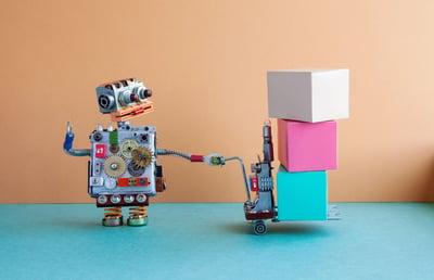 Roboter-Versand-M