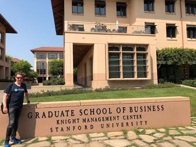 Ralph Hünermann at Stanford Business School