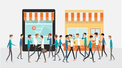 Online-vs-Offline-Shops